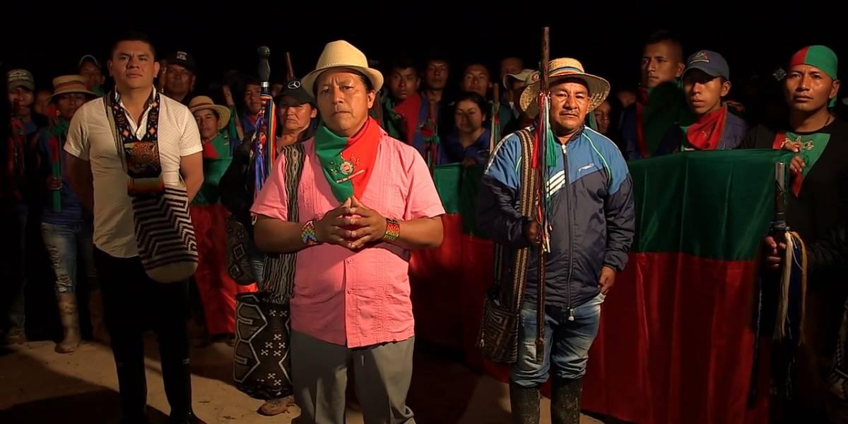 """Acnur pide """"protección urgente"""" para indígenas colombianos desplazados"""