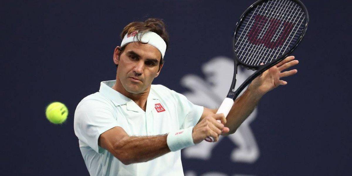 Roger Federer se instala en la final del Abierto de Miami