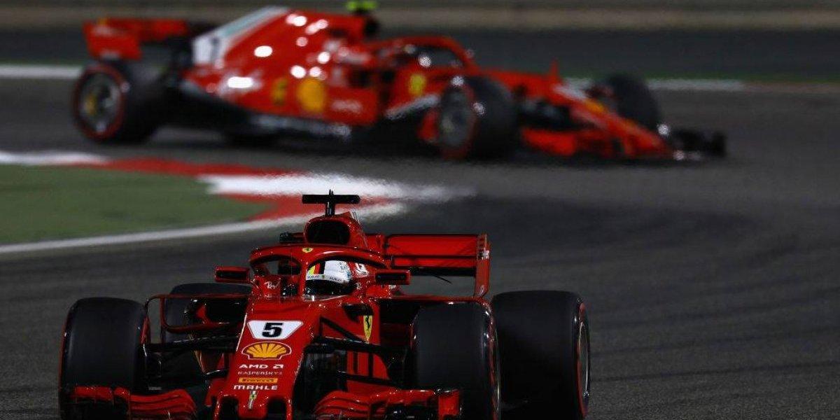 Ferrari consigue el 1-2 para el Gran Premio de Bahrein