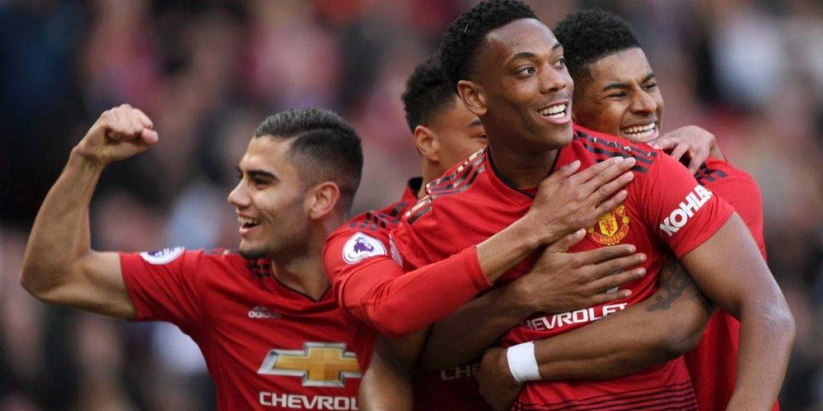 Manchester United ganó al Watford y sueña con la clasificación directa a la Champions League