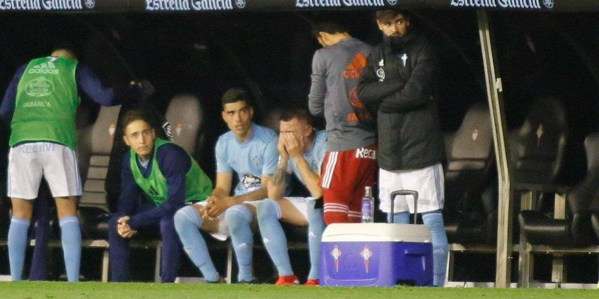 VIDEO: Iago Aspas rompe en llanto después de marcar doblete con Celta