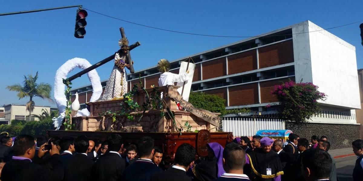 Jesús Nazareno Justo Juez recorrerá el antañón Barrio Gerona