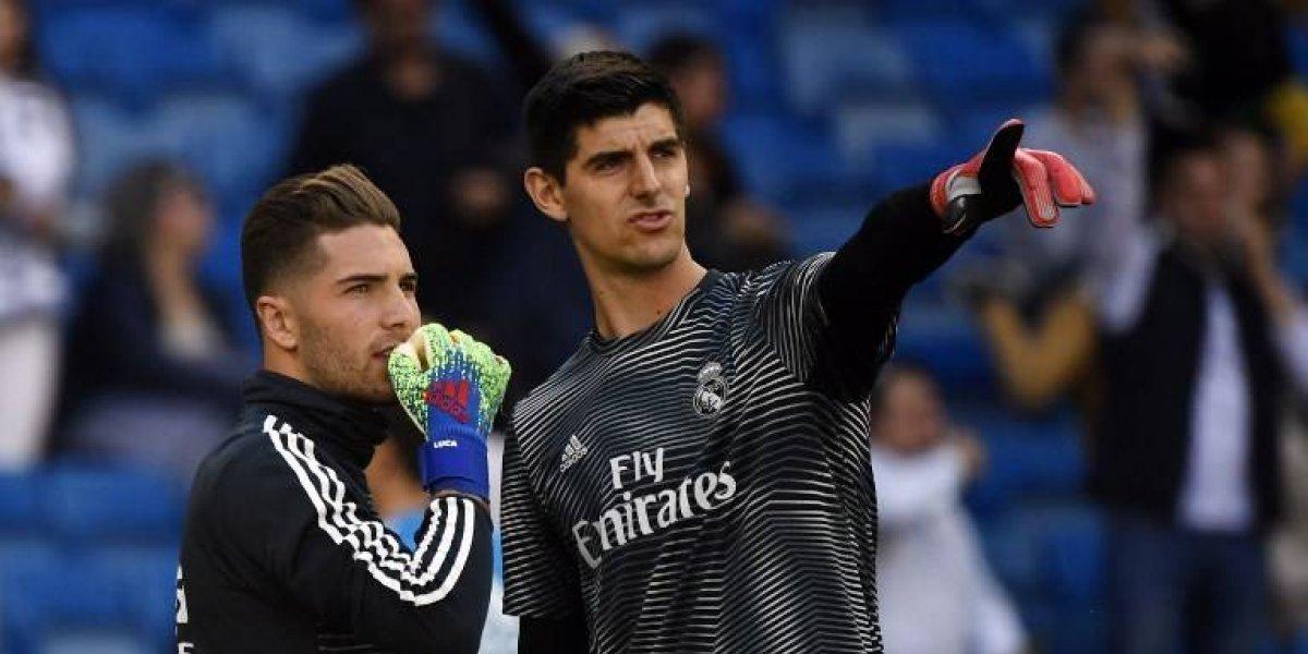 Zidane convoca a su hijo en ausencia de Courtois