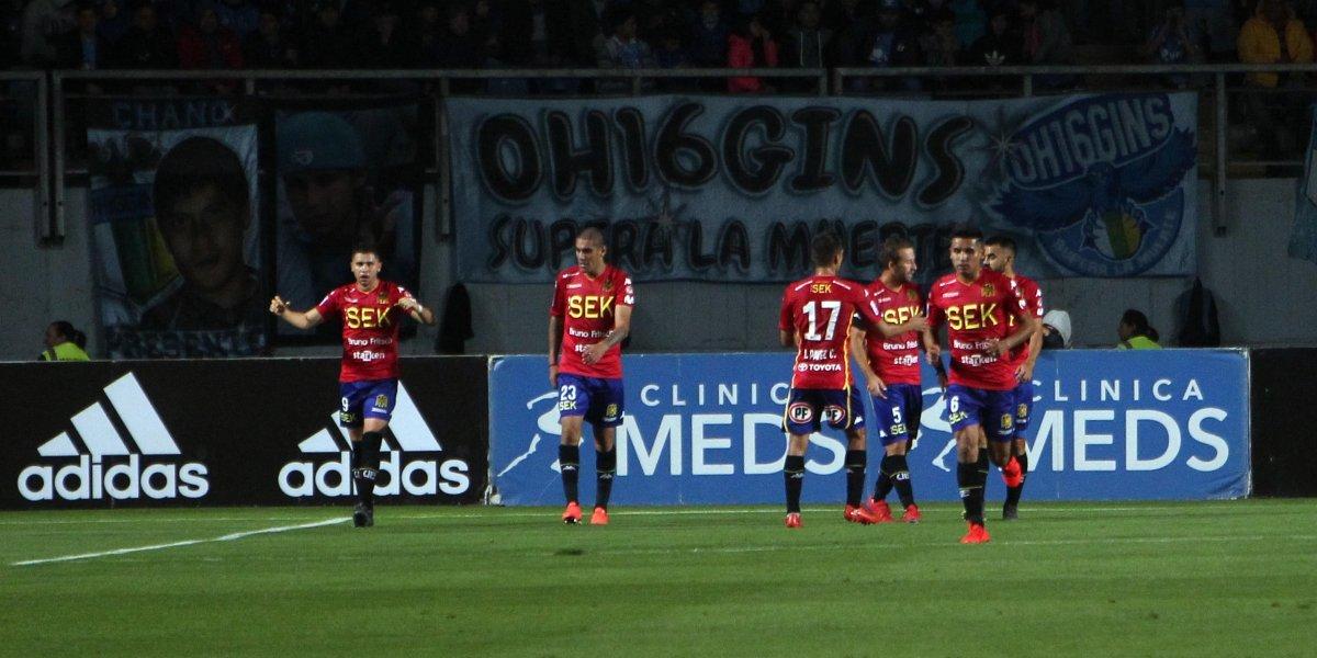 Unión Española no se dejó llevar por la presión y venció a O'Higgins para ser líder del Campeonato Nacional
