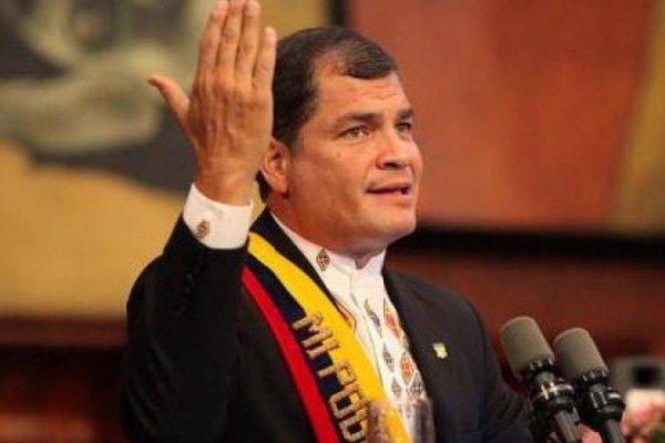 Rafael Correa indica que Moreno abandonará el poder