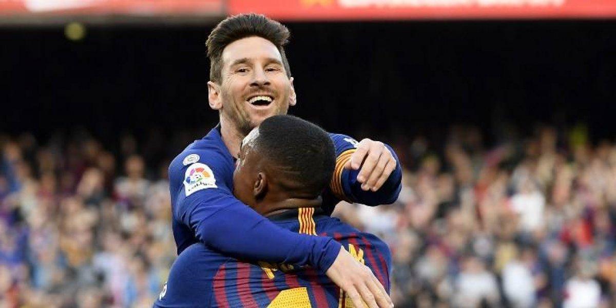 Messi supera al Espanyol y presume sus números con el Barça