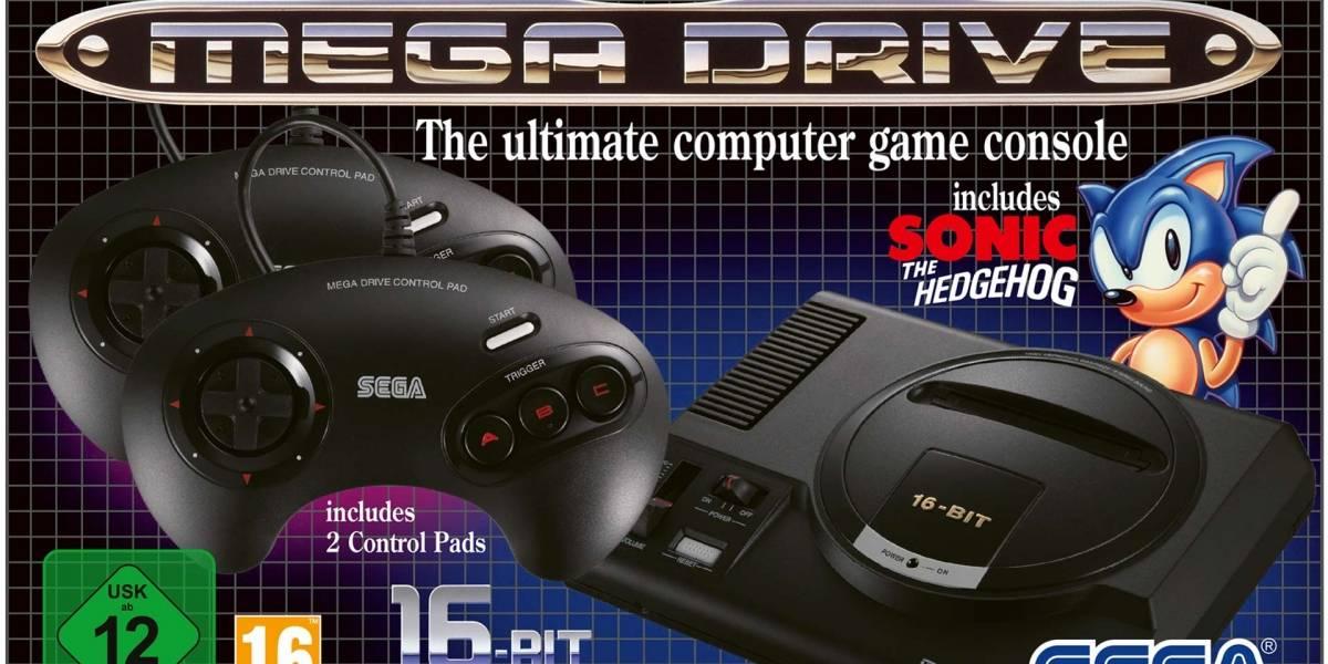 Sega anunció para el 19 de septiembre su consola Genesis Mini
