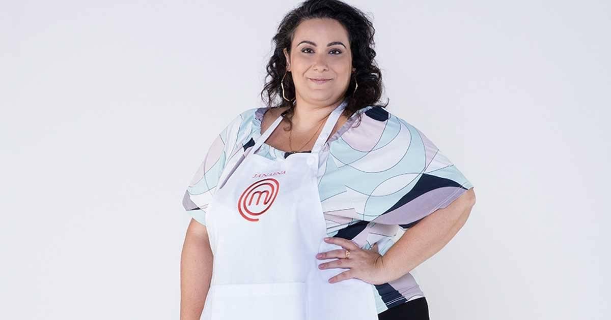 Janaina Caetano diz que gosta de comida de verdade Foto: Divulgação/Band