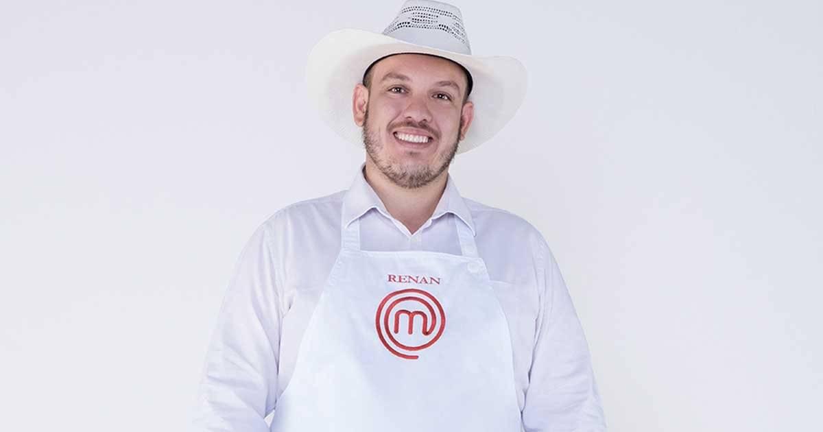 Renan Côrrea gosta da gastronomia caipira Foto: Divulgação/Band