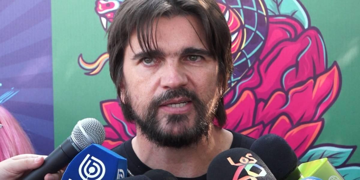 Lollapalooza Chile 2019: Juanes se cuadra con Bosé y las críticas a Michelle Bachelet
