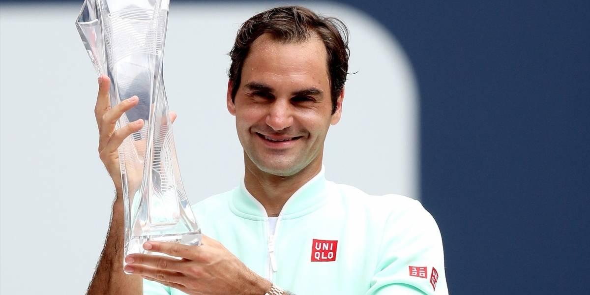 ¡Su majestad! En Miami, Roger Federer escribió otro capítulo de su gloriosa historia