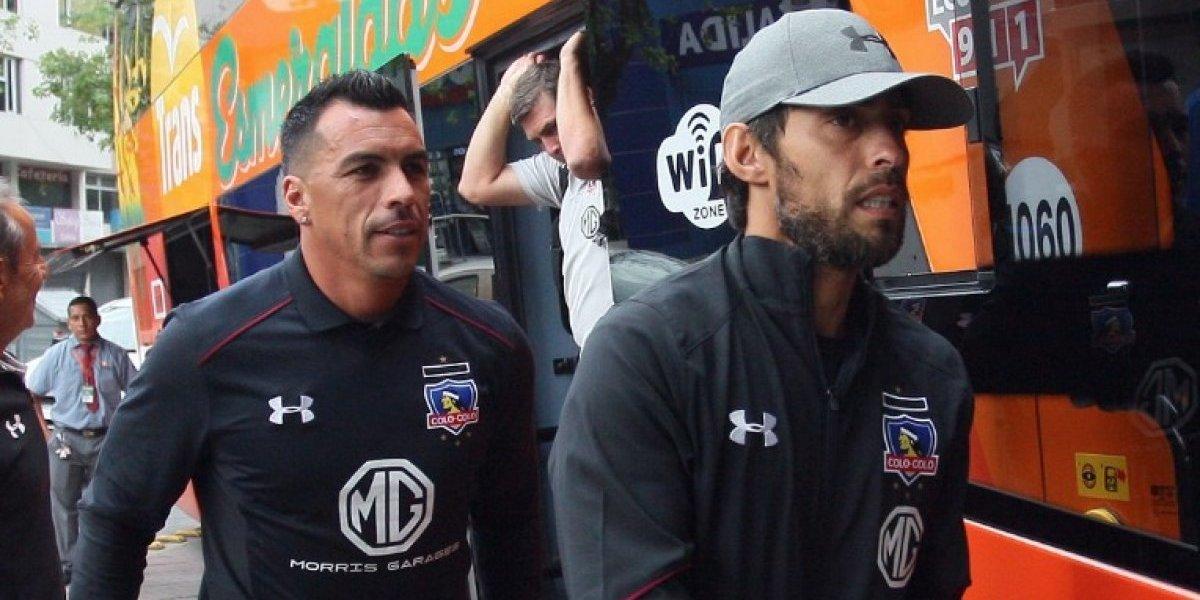 Colo Colo llegó a Quito para su debut en la Copa Sudamericana