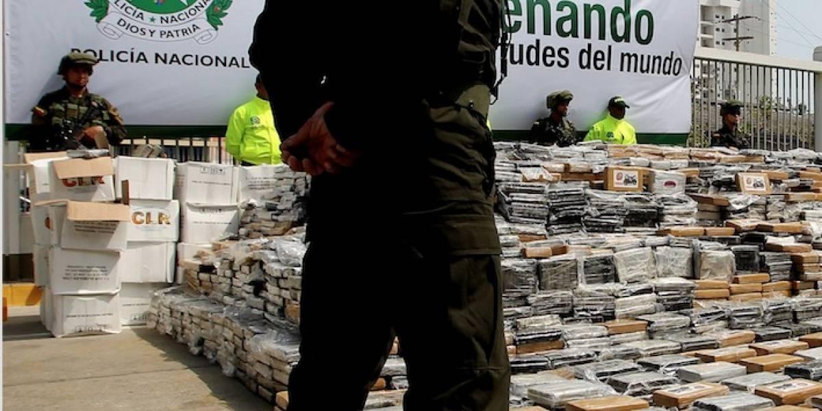 Incautan una tonelada de cocaína en Cartagena que iba a ser enviada a EE.UU.