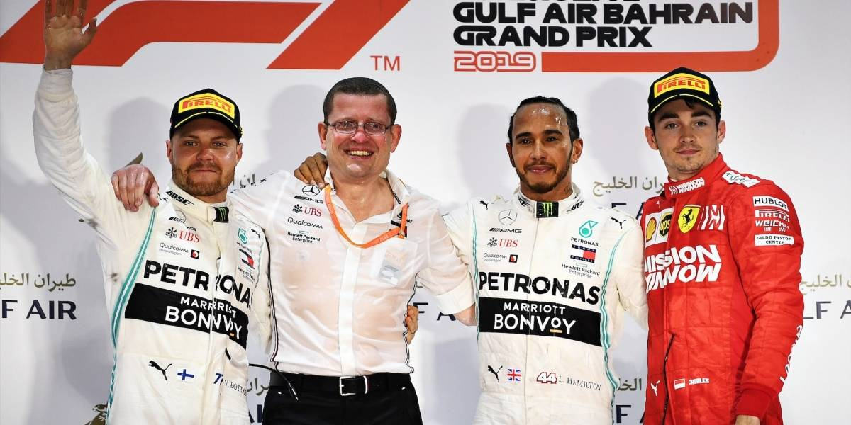 ¡Atípica carrera! Gran Premio de Bahréin no le sonrió a Ferrari, pero sí a Mercedes