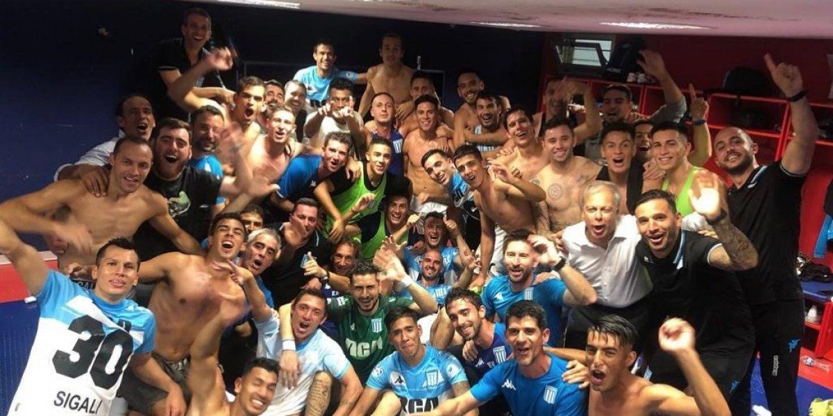 El Racing de los chilenos sufrió hasta el final para ser campeón de la Superliga de Argentina