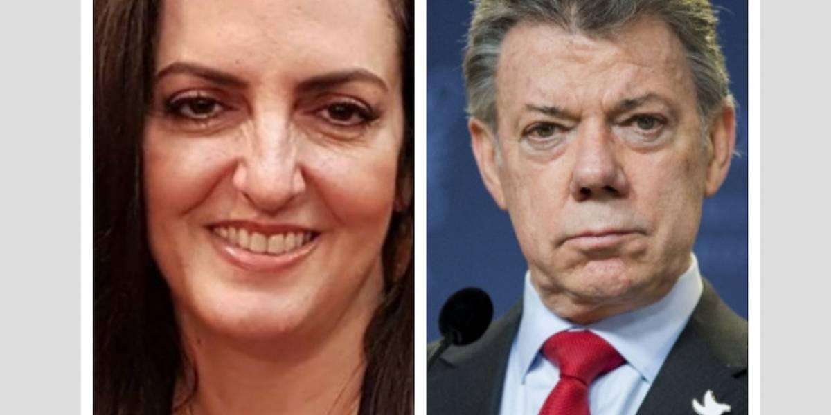 ¡Con grosera comparación! Así se refirió María Fernanda Cabal a Juan Manuel Santos