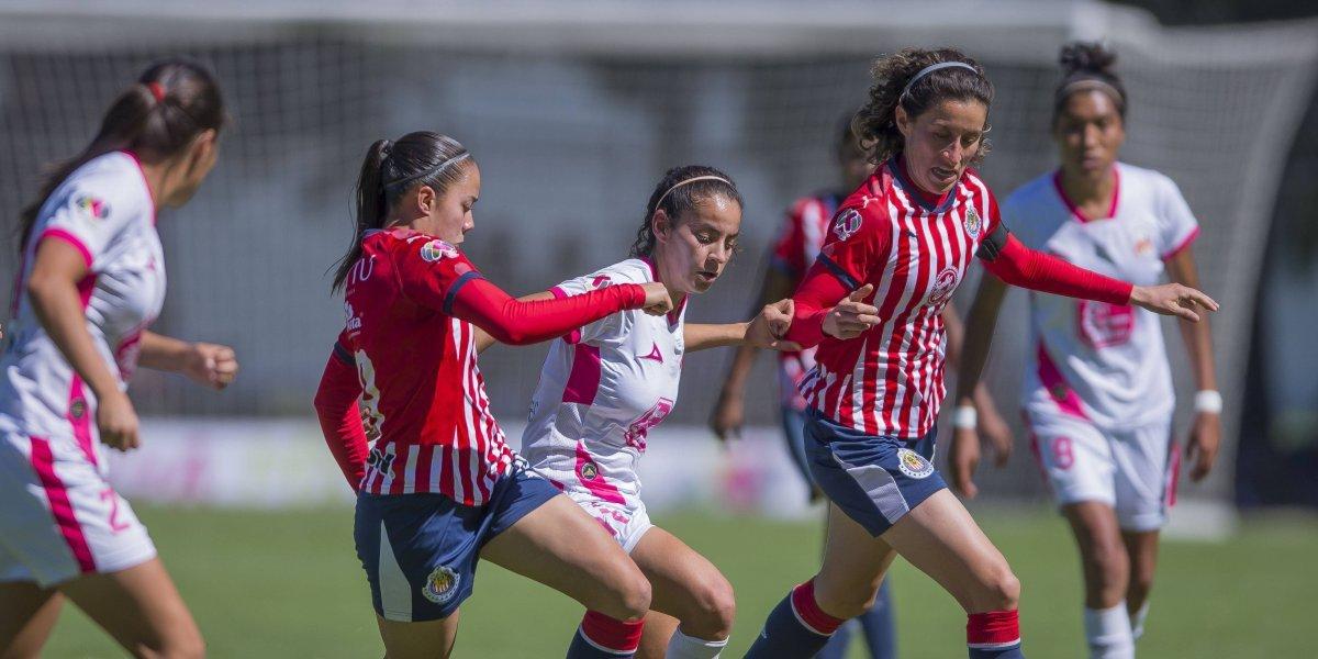 Chivas se complica la calificación en Liga MX Femenil