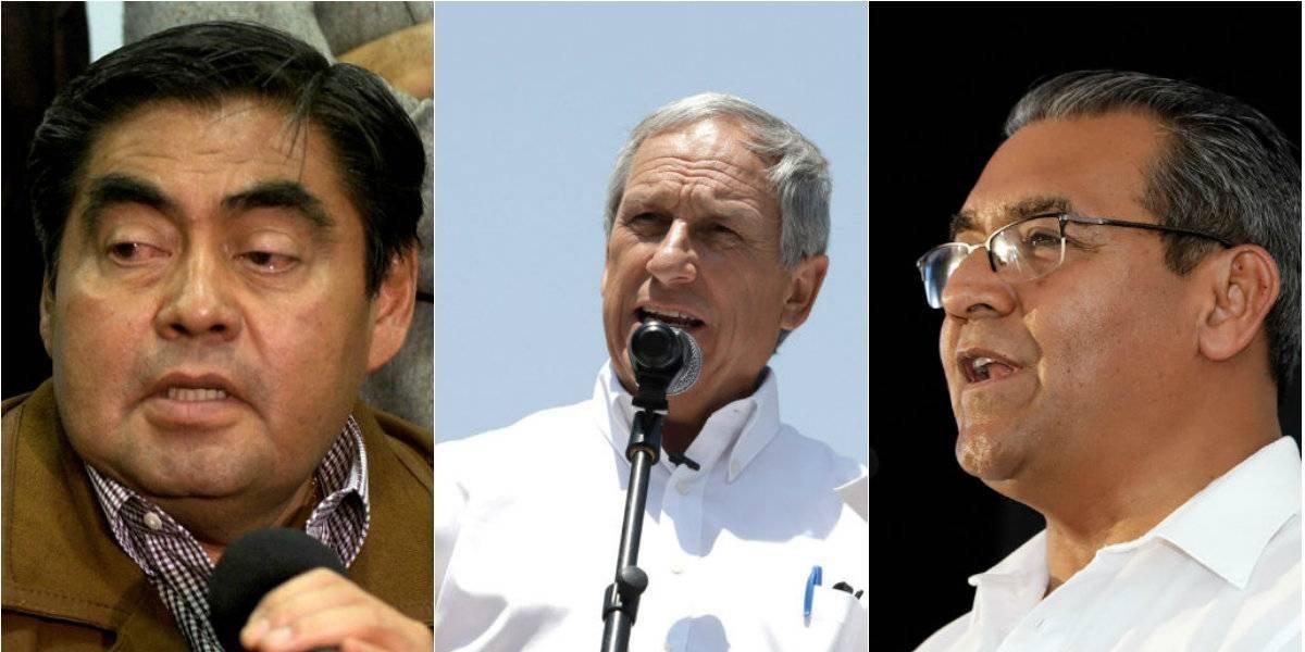 Ellos son los tres candidatos que disputan la gubernatura de Puebla