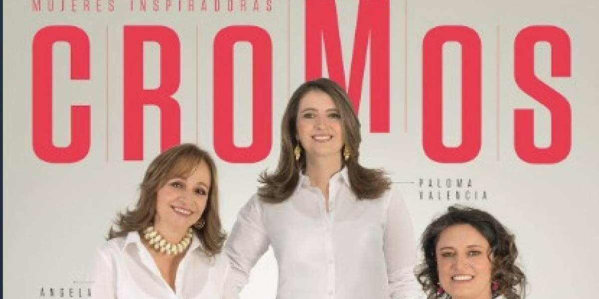 ¿Mucho Photoshop? La extraña figura de Paloma Valencia en portada de Cromos