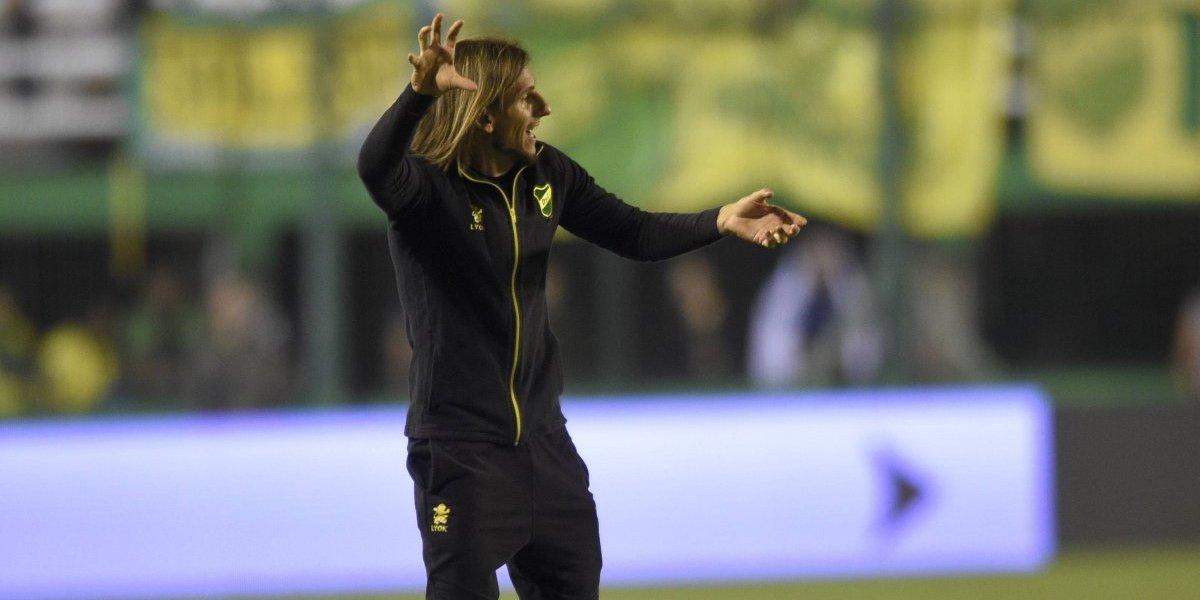 Beccacece explotó contra los árbitros tras perder la Superliga de Argentina