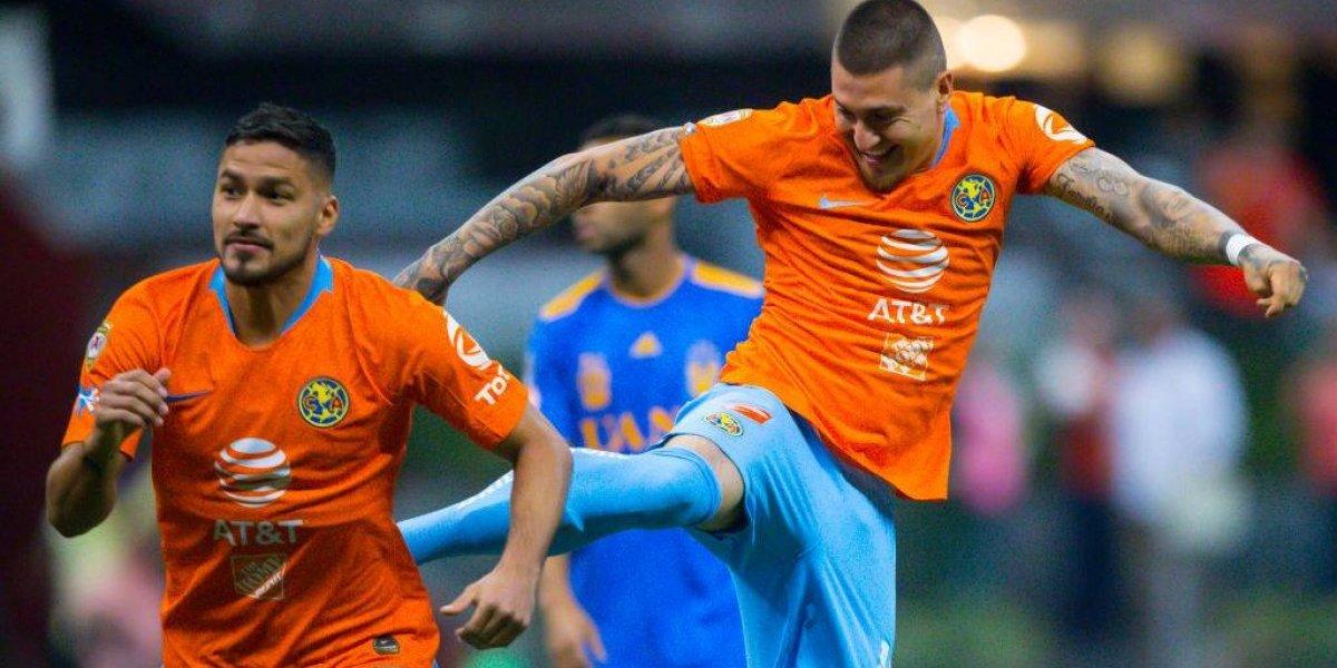 América de Nicolás Castillo goleó al Tigres de Eduardo Vargas por la Liga MX