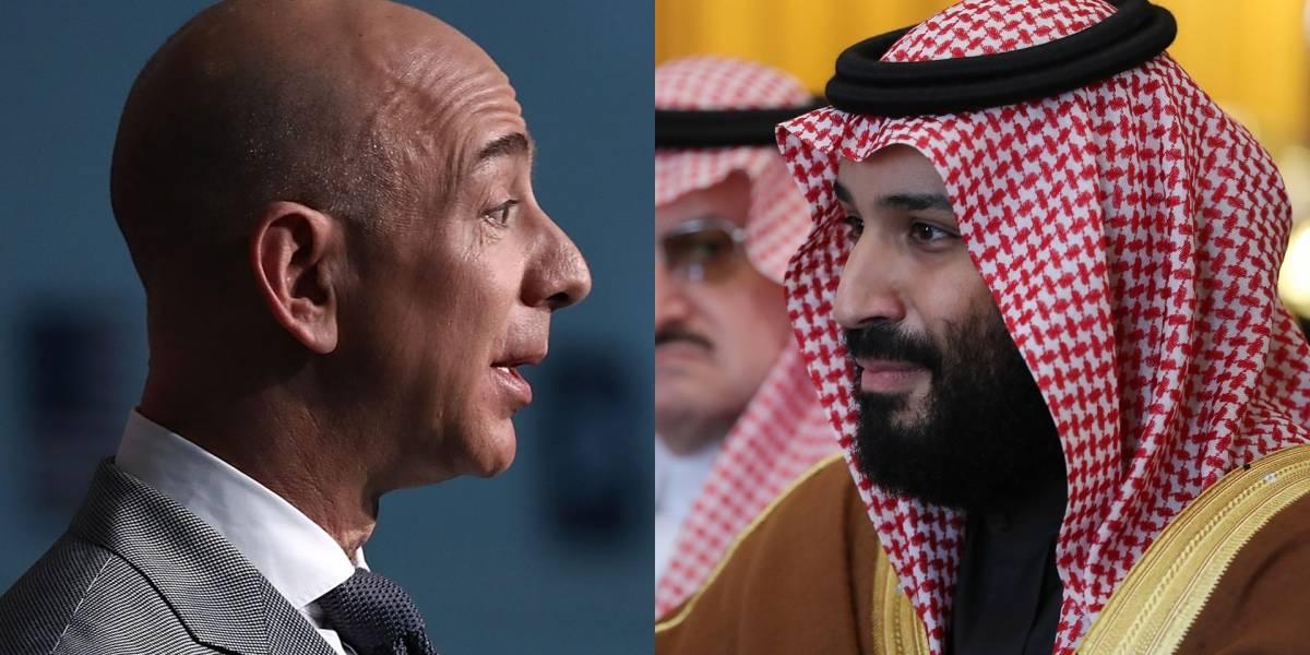 Arabia Saudita estaría detrás del escándalo por chantaje a Jeff Bezos al haber hackeado su teléfono