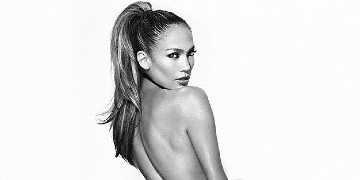 Filtran fotografía de Jennifer López vestida de stripper