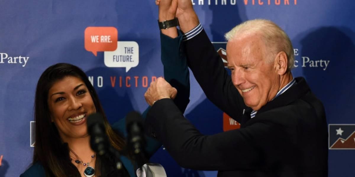 Joe Biden niega comportamientos inapropiados hacia mujeres
