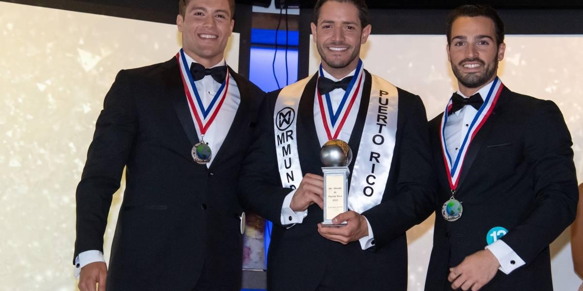 Eligen a Mr. Mundo Puerto Rico 2019
