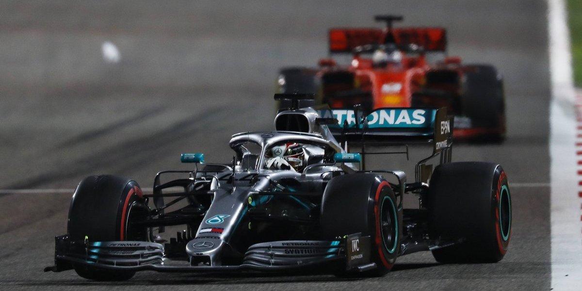 Hamilton se corona en el Gran Premio de Baréin: 'Checo' terminó dentro del Top 10