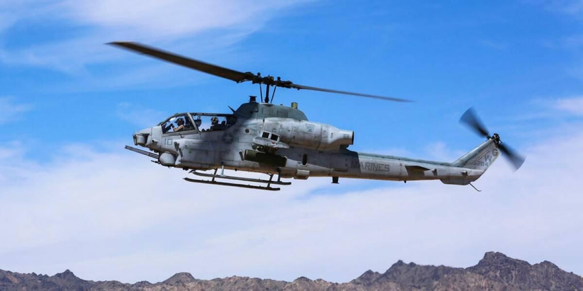 Mueren 2 Marines en caída de helicóptero militar en Arizona