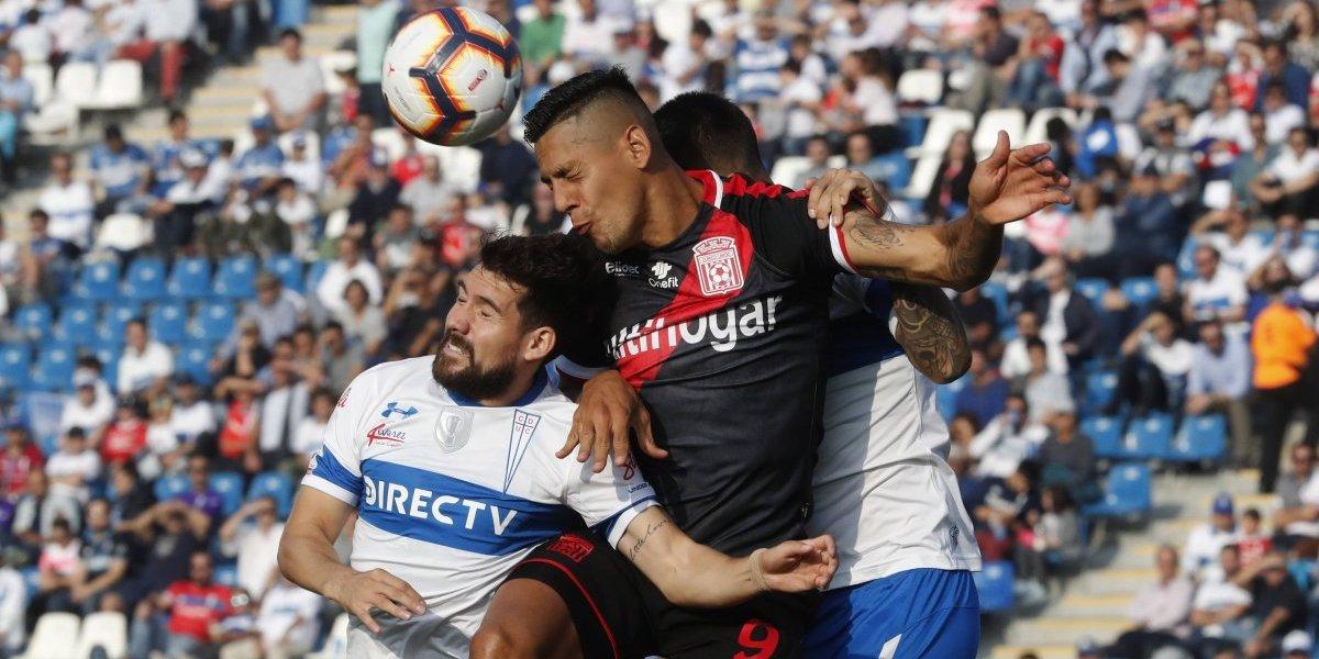 Minuto a minuto: La UC empata con Curicó y pierde la opción de alcanzar la punta del Campeonato