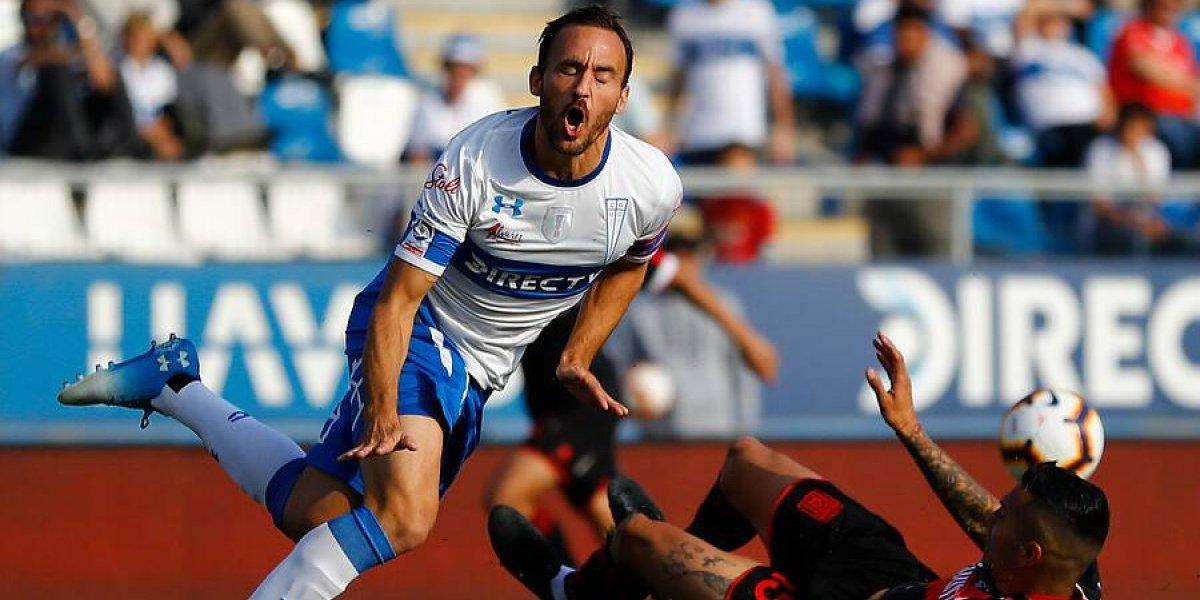 Curicó cortó la racha de la UC y la bajó de la punta del Campeonato Nacional