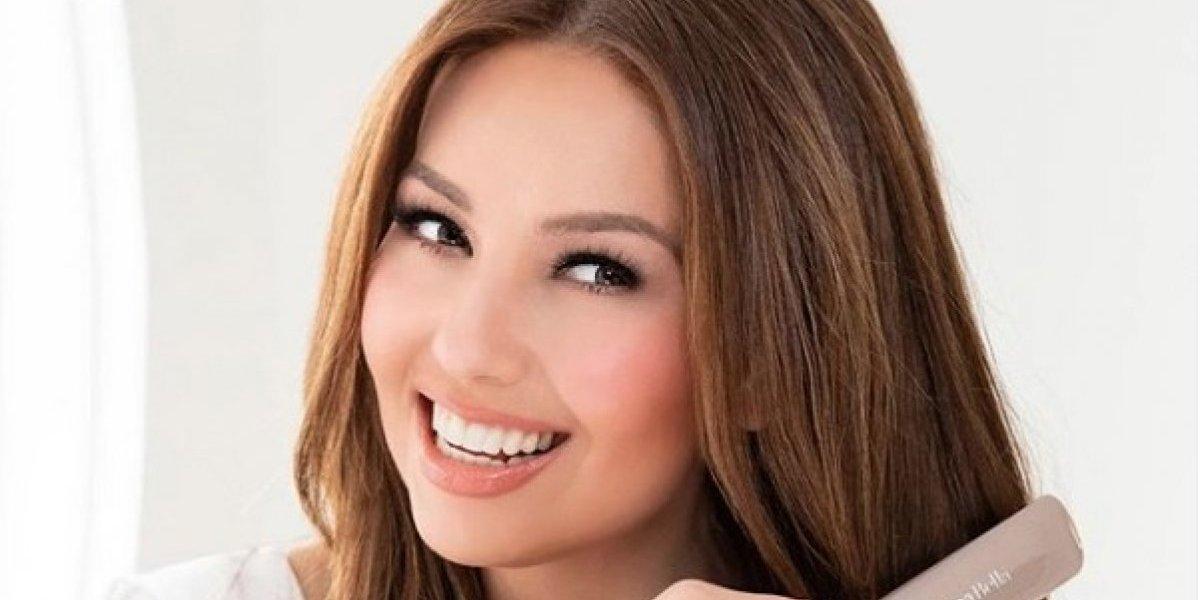 Thalía muestra su rostro impecable sin maquillaje y sus fans le aplauden