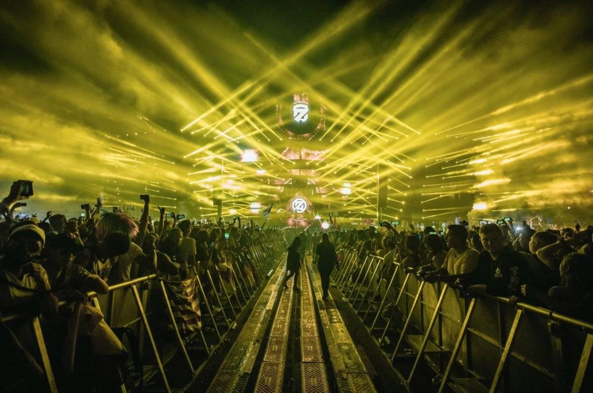 Miles de asistentes disfrutaron el festival en Miami Twitter: @ultra