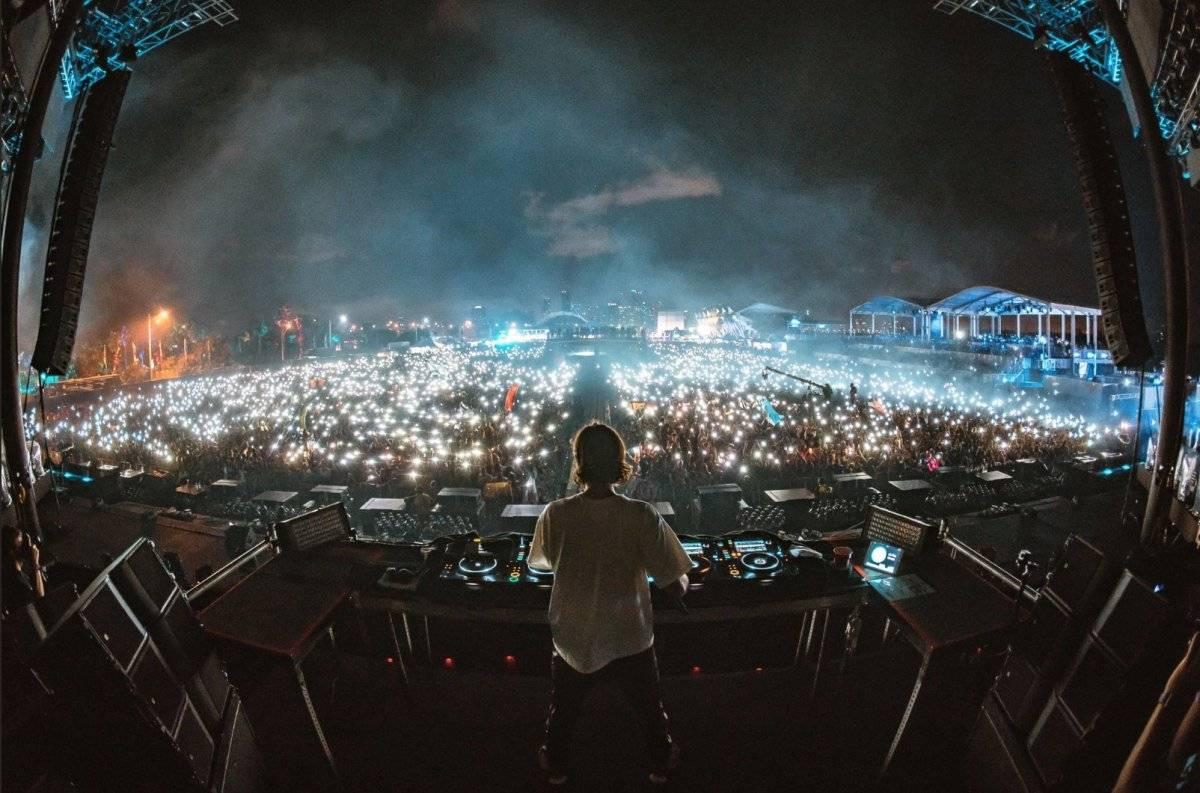 Dj ZEDD se presentó en el festival y pus a bailar a miles de asistentes Twitter: @ultra