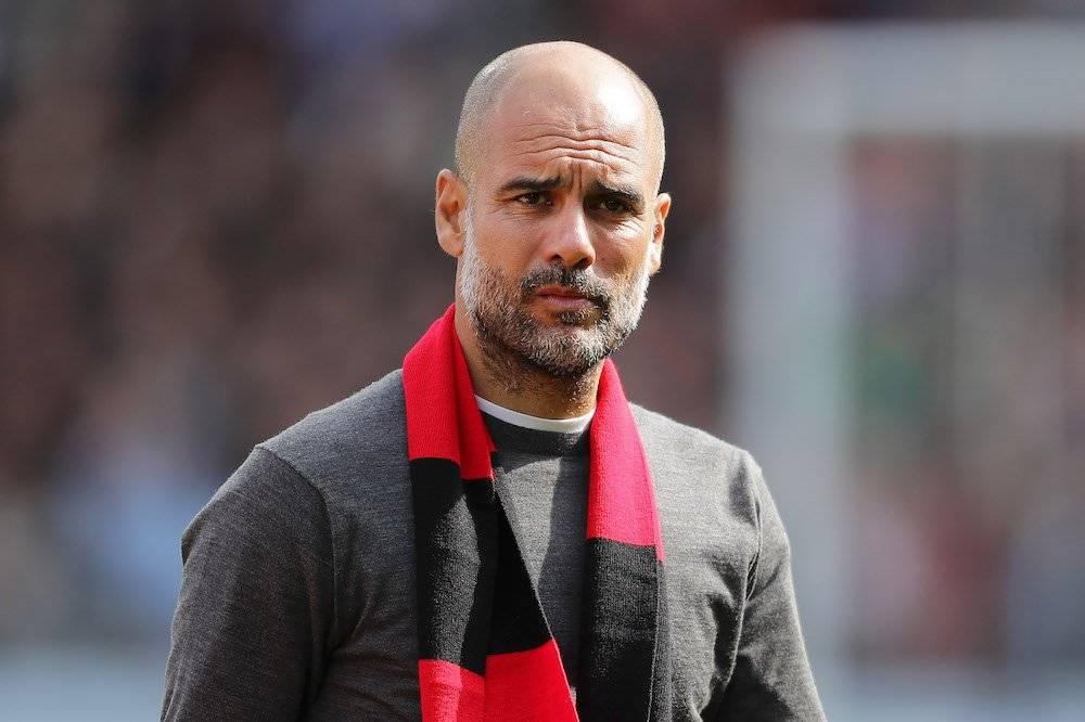 Pep Guardiola Getty Images