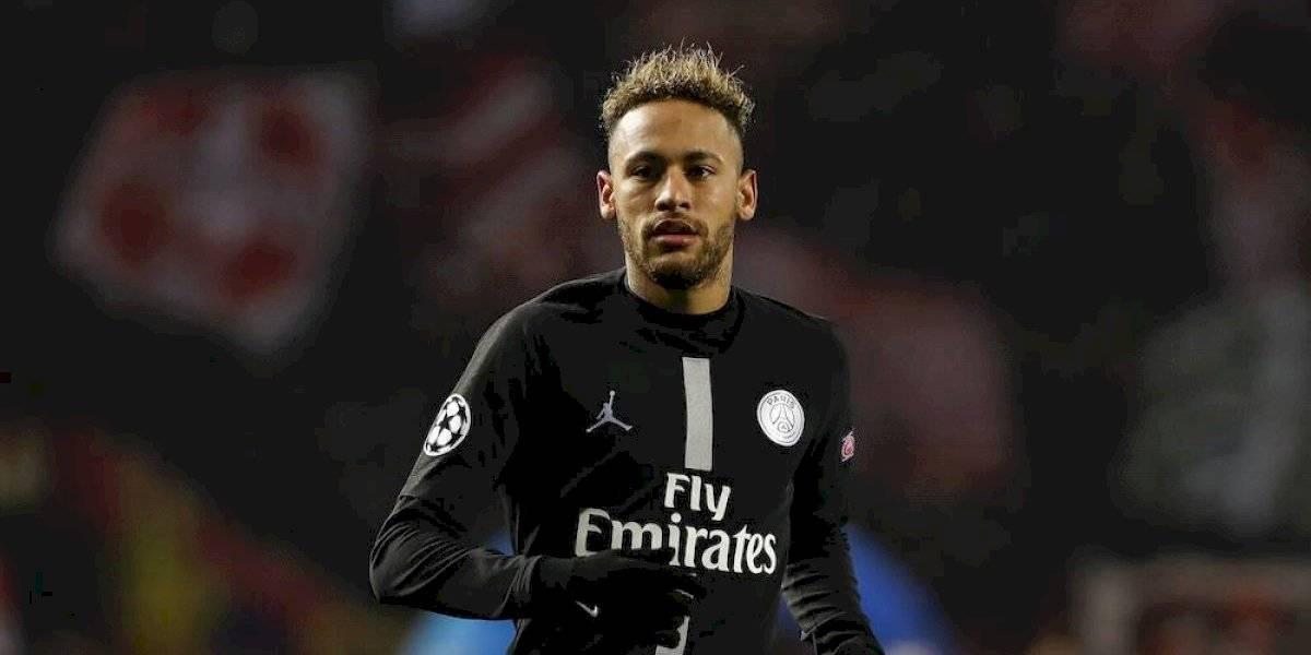 Neymar no se presenta a entrenamiento del PSG