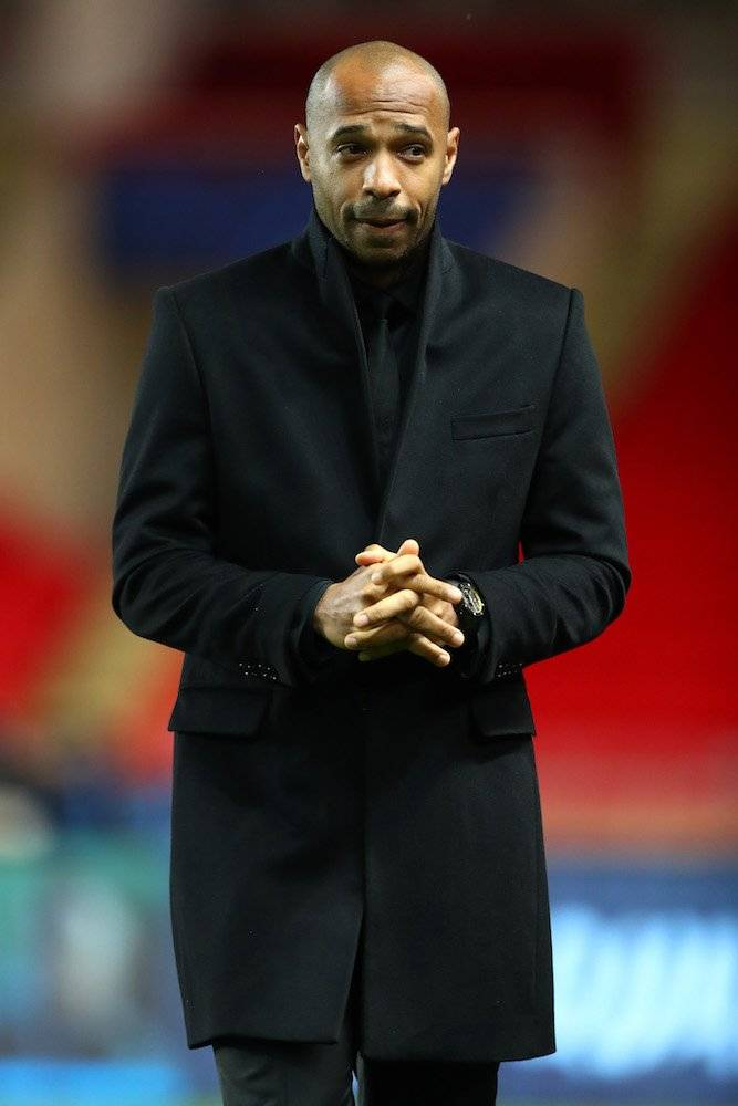 Thierry Henry Getty Images