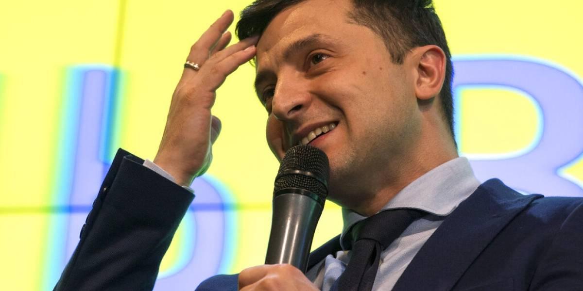 ¿Sería un chiste como presidente? Comediante vence en la primera vuelta de las elecciones y toma ventaja para ser mandatario de Ucrania