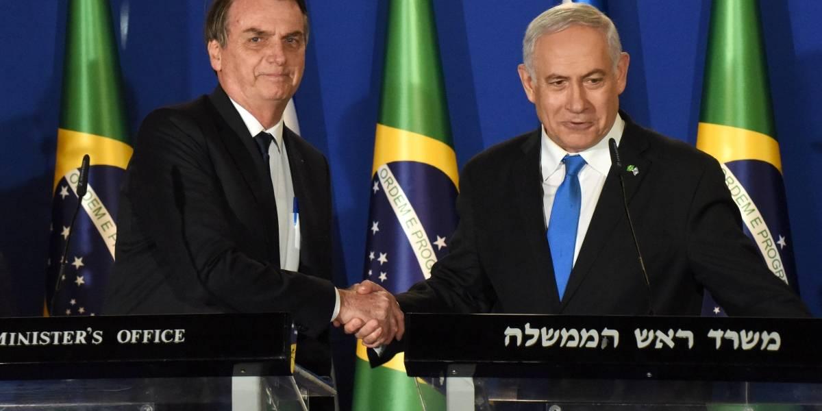 Decisão sobre transferência de embaixada em Israel será tomada até 2022, diz Bolsonaro