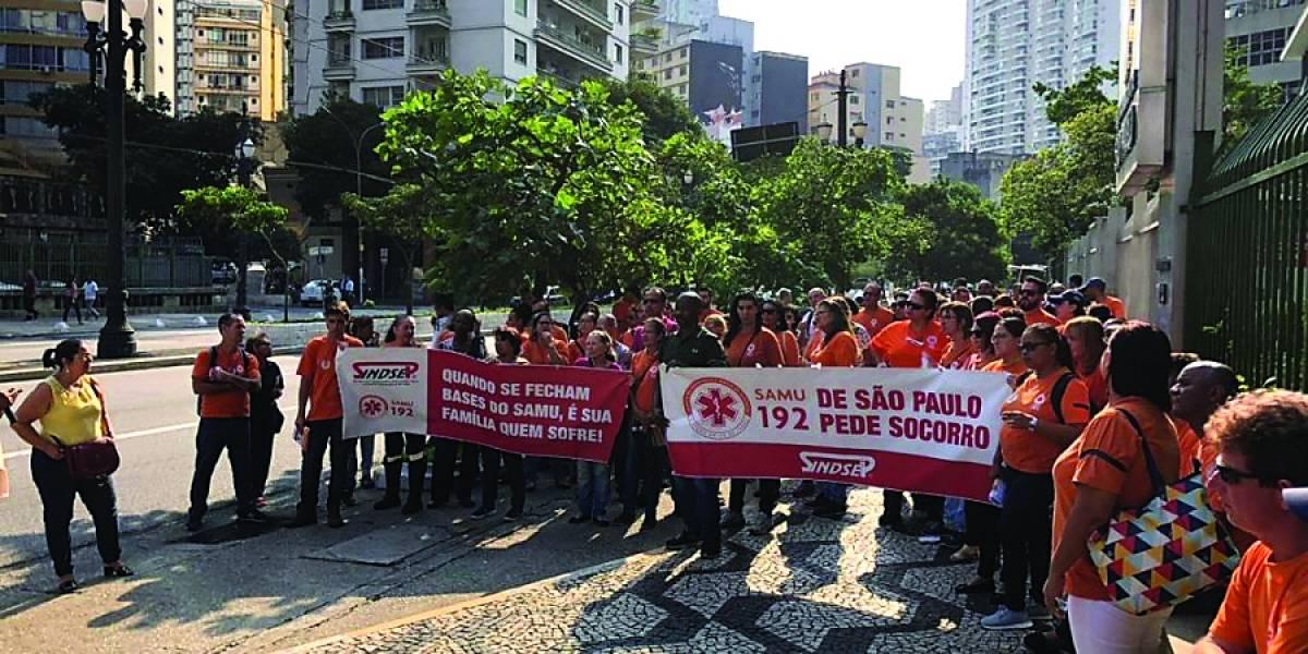 Funcionários do Samu decretam greve nesta terça-feira