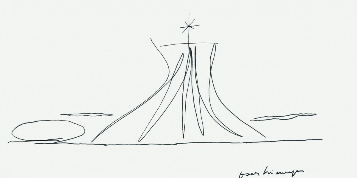 Exposição no Tomie Ohtake revela outras facetas da obra de Oscar Niemeyer