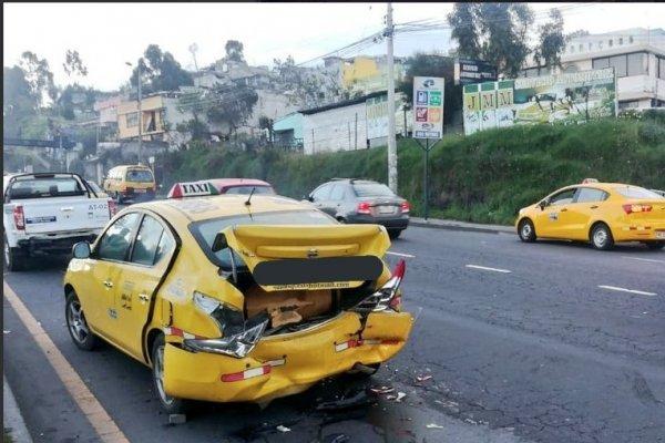 Quito: Varios accidentes de tránsito se registraron este 1 de abril