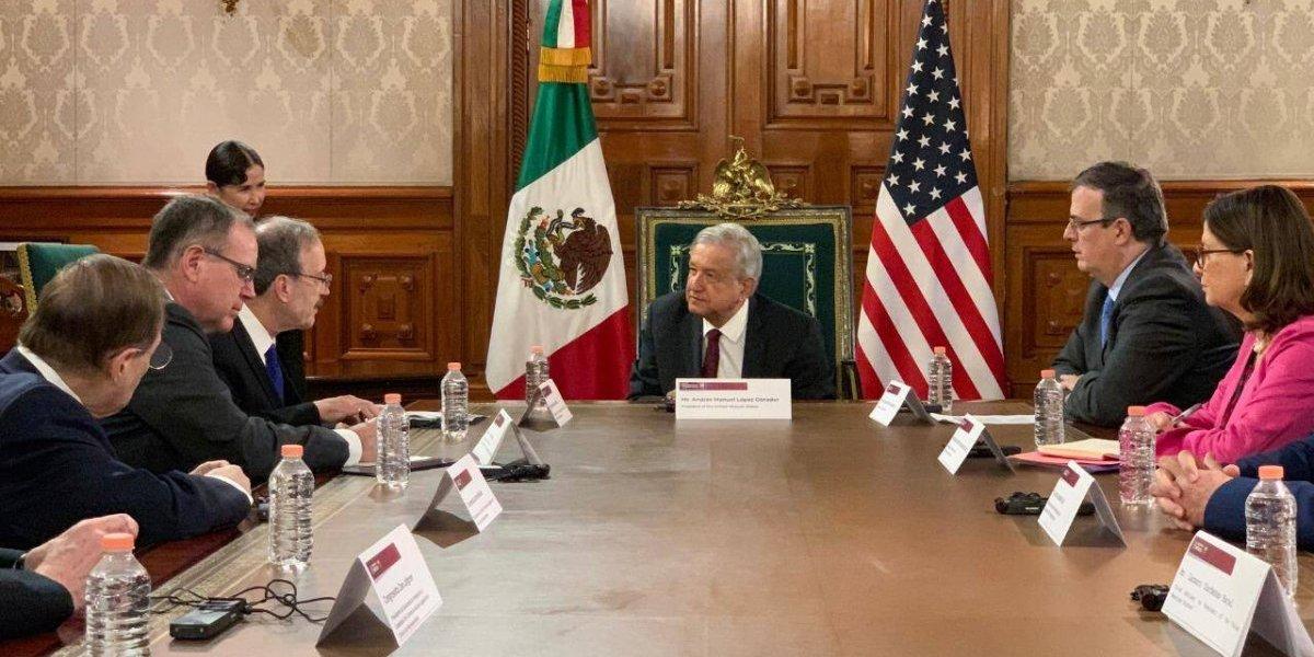 AMLO y congresistas de EU no hablaron del cierre de la frontera