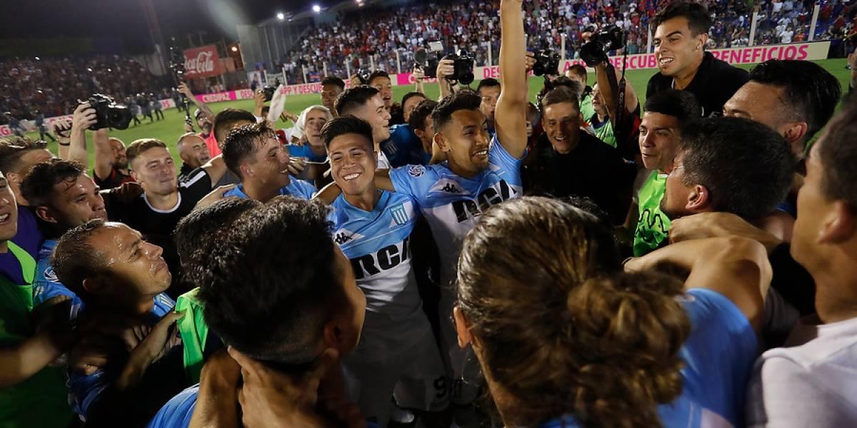 """El desahogo de Marcelo Díaz en Racing: """"Fuimos ampliamente superiores todo el torneo"""""""