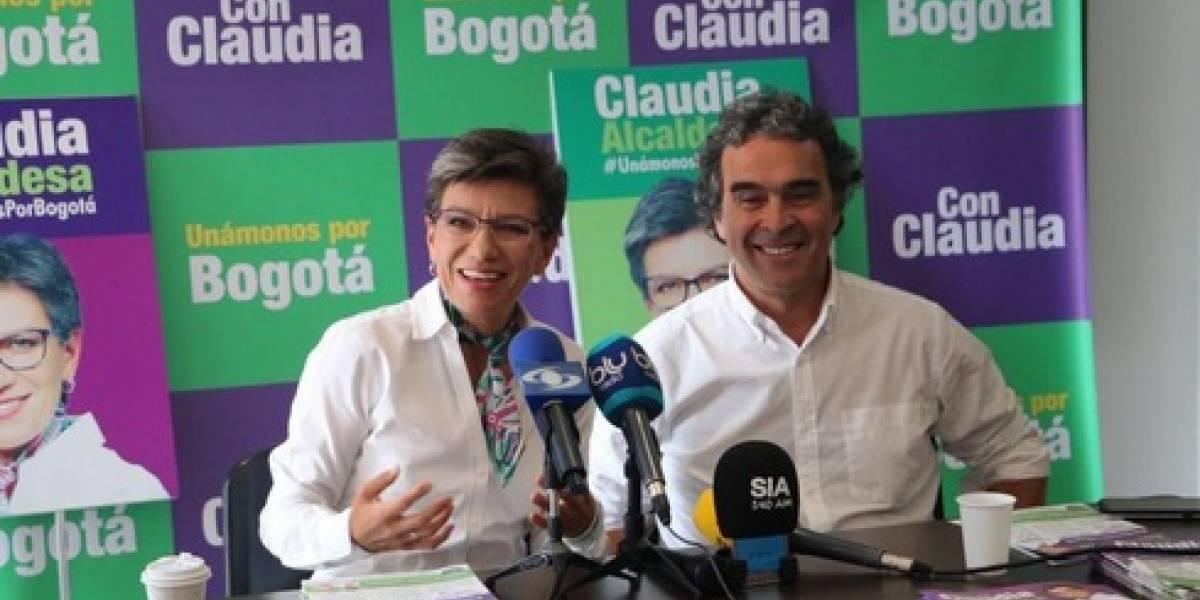 Sergio Fajardo anuncia su respaldo a la candidatura de Claudia López