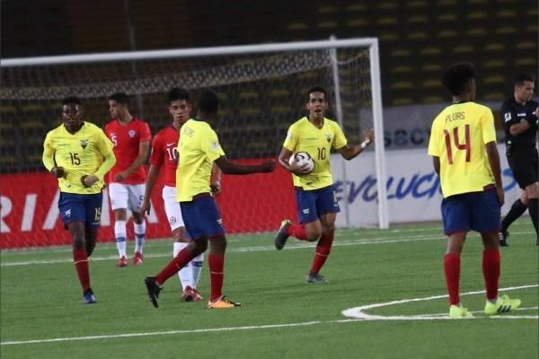 Ecuador vs Chile: Sudamericano Sub 17, EN VIVO, alineaciones, hora del partido