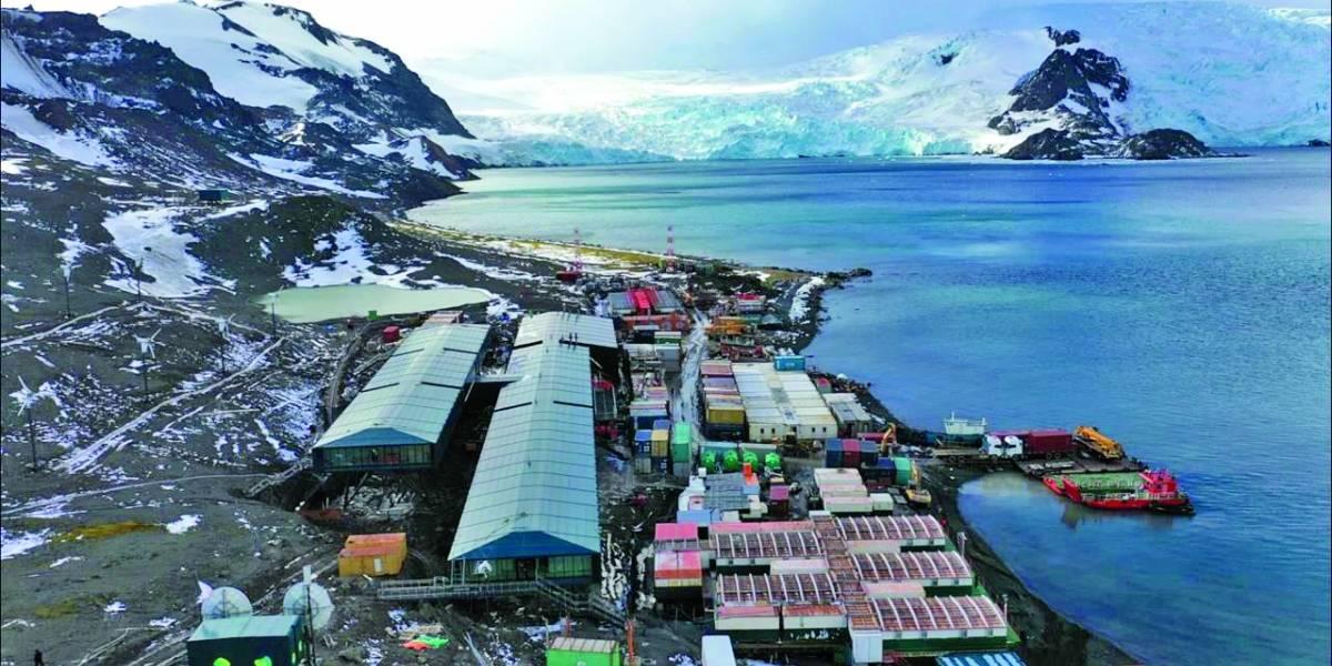 Reconstrução de estação brasileira de pesquisas na Antártida entra na fase final