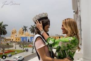 ExMiss Perú y Jessi Newton